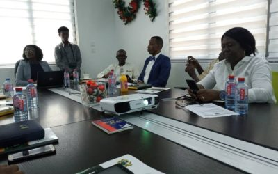 Leadership of GNAPS met with the Acting Executive Secretary of NIB